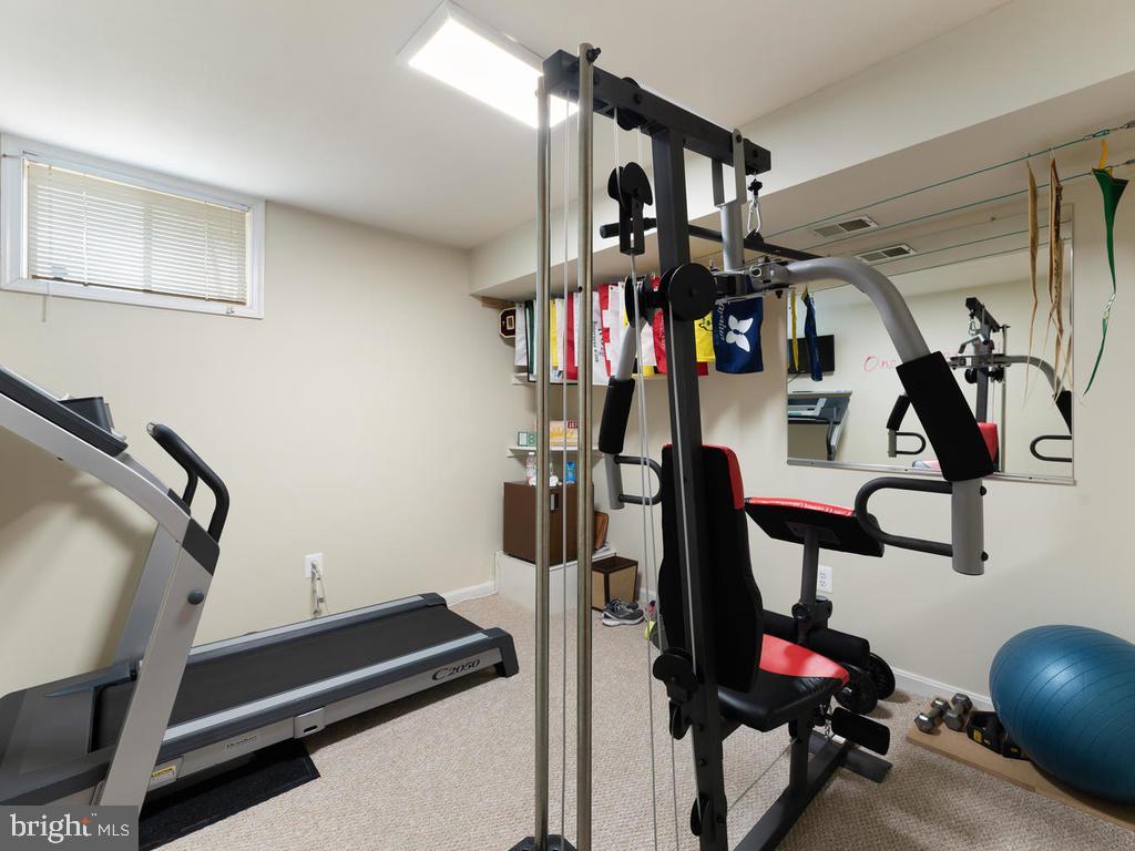 Basement gym - 1518 THURBER ST, HERNDON
