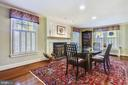 Room enough for dining table to seat 12+ people - 1002 MOSS HAVEN CT, ANNAPOLIS
