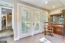 French doors to front yard - 1002 MOSS HAVEN CT, ANNAPOLIS