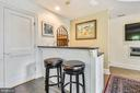 Bar area in rec/pool room - 1002 MOSS HAVEN CT, ANNAPOLIS