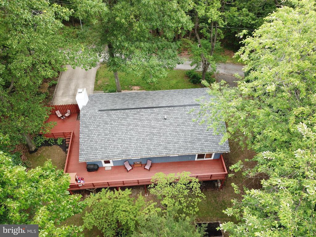 View of Large Deck! - 234 PINE CREST LN, BLUEMONT