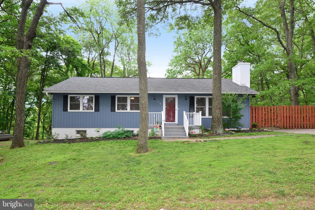 Front of this Adorable Home!! - 234 PINE CREST LN, BLUEMONT