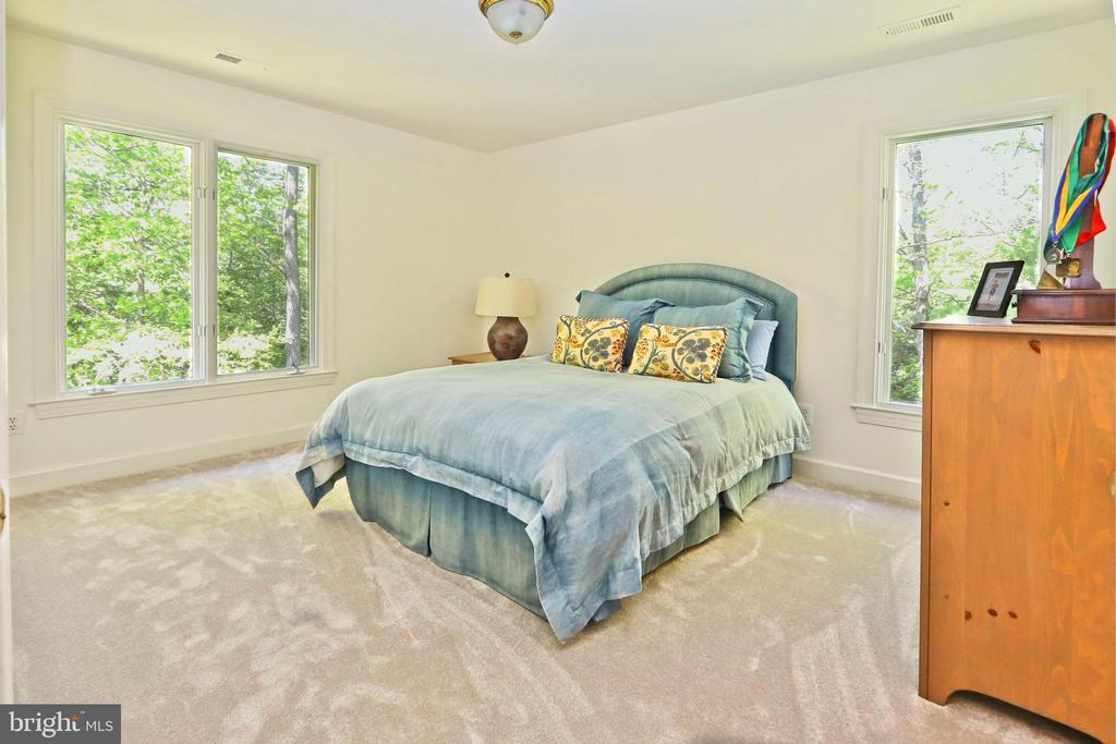 Bedroom 2 has a walk-in closet - 11331 BRIGHT POND LN, RESTON