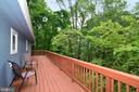 Large Deck wraps around - 234 PINE CREST LN, BLUEMONT