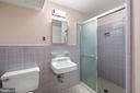Lower level full bath - 7413 SHENANDOAH AVE, ANNANDALE