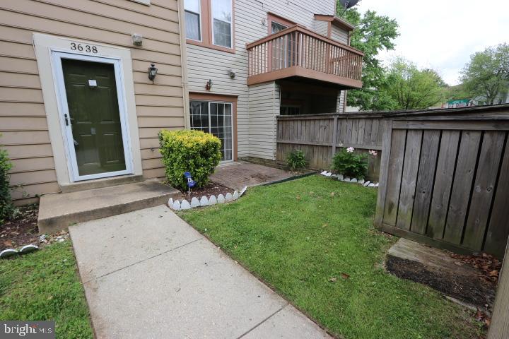 Front Yard and Patio - 3638 ALPEN GREEN WAY #22-241, BURTONSVILLE