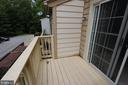 Master Balcony - 3638 ALPEN GREEN WAY #22-241, BURTONSVILLE