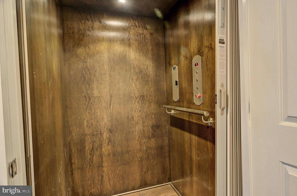 Elevator - 7843 OLIVET CT, ALEXANDRIA