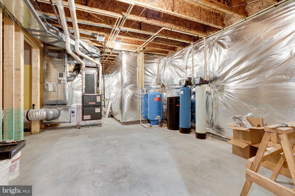 Storage/mechanical room - 104 PENDER CT, FREDERICKSBURG