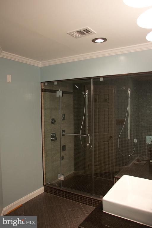 Master shower! - 6061 ESTATES DR, ALEXANDRIA