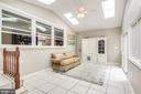 Enclosed Sunroom addition - 322 MT VERNON PL, ROCKVILLE