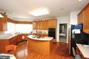 Kitchen - 25782 AYTHORNE LN, CHANTILLY