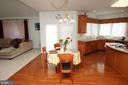 Breakfast Room - 25782 AYTHORNE LN, CHANTILLY