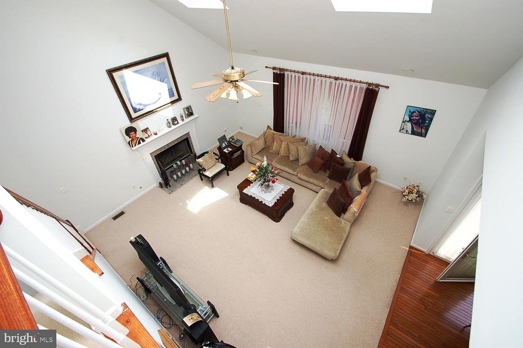 Family Room - 25782 AYTHORNE LN, CHANTILLY