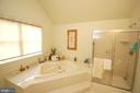 Master Bath - 25782 AYTHORNE LN, CHANTILLY