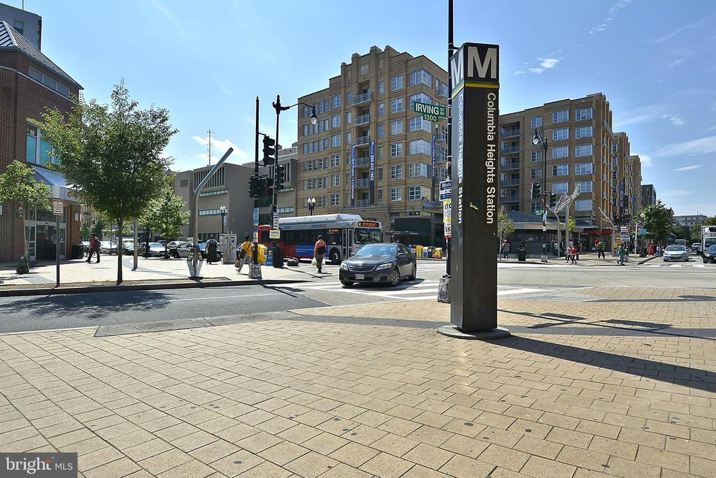 .5 miles to U Street Metro - 1321 EUCLID ST NW #302, WASHINGTON