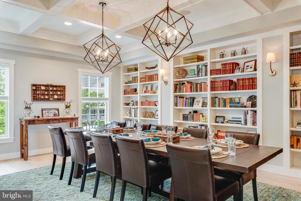 Dining Room/Library - 1310 BEACHVIEW RD, ANNAPOLIS