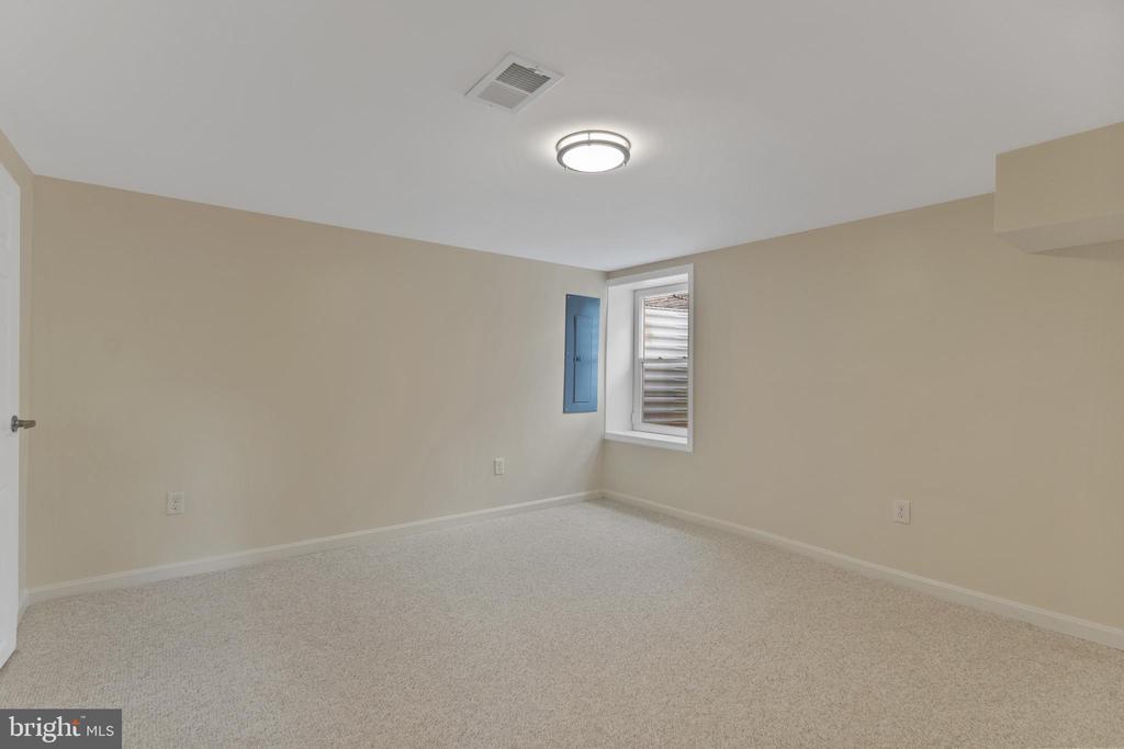Bedroom 4:  Lower Level - 2705 HAMLIN ST NE, WASHINGTON