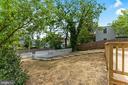 Large Backyard - 2705 HAMLIN ST NE, WASHINGTON