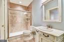 Lower Level Full Bath - 43554 FIRESTONE PL, LEESBURG