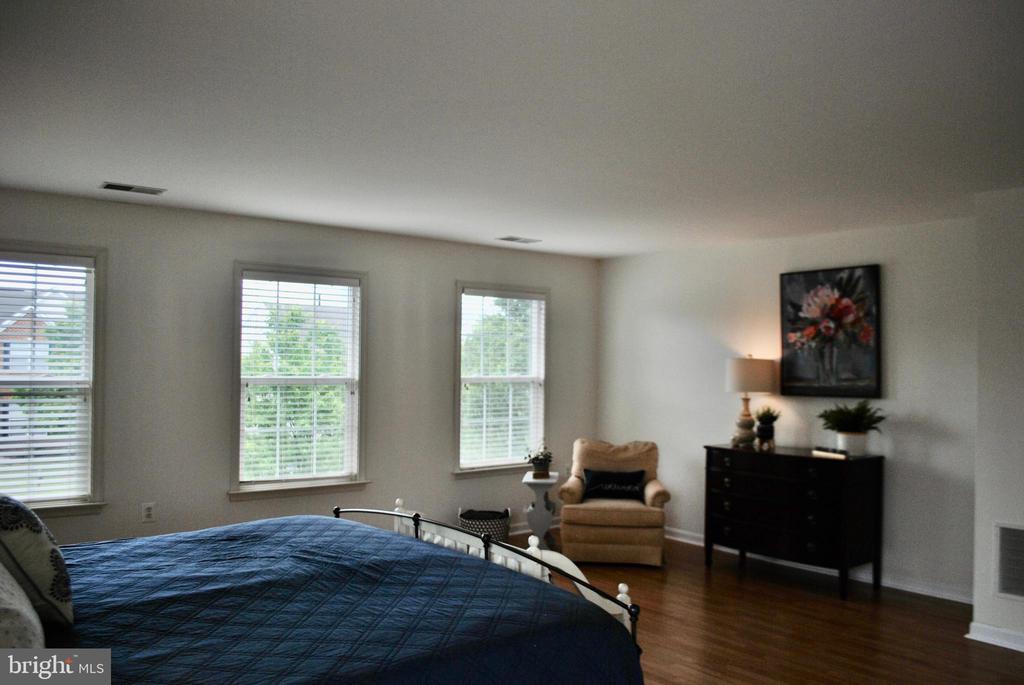 Master bedroom - 165 ALPINE DR SE, LEESBURG