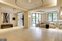 Newly renovated lobby with seating areas - 1312 MASSACHUSETTS AVE NW #109, WASHINGTON