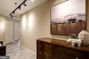 Foyer of #109 walls gallery walls - 1312 MASSACHUSETTS AVE NW #109, WASHINGTON