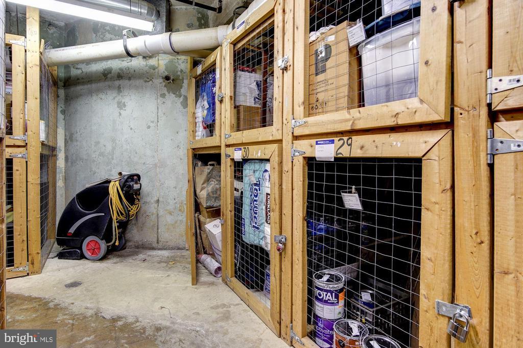 Storage space 29 conveys - 1312 MASSACHUSETTS AVE NW #109, WASHINGTON