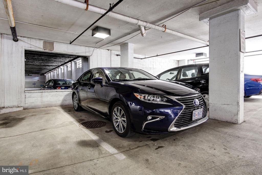Parking space 09 conveys - 1312 MASSACHUSETTS AVE NW #109, WASHINGTON