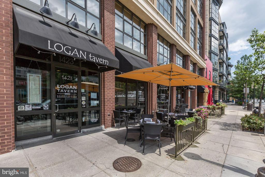 Nearby restaurants with outdoor seating - 1312 MASSACHUSETTS AVE NW #109, WASHINGTON