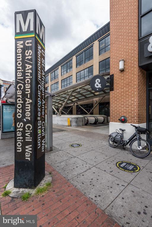 1 block to U Street metro! - 1390 V ST NW #209, WASHINGTON