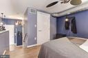 Walk-in closet - 1390 V ST NW #209, WASHINGTON