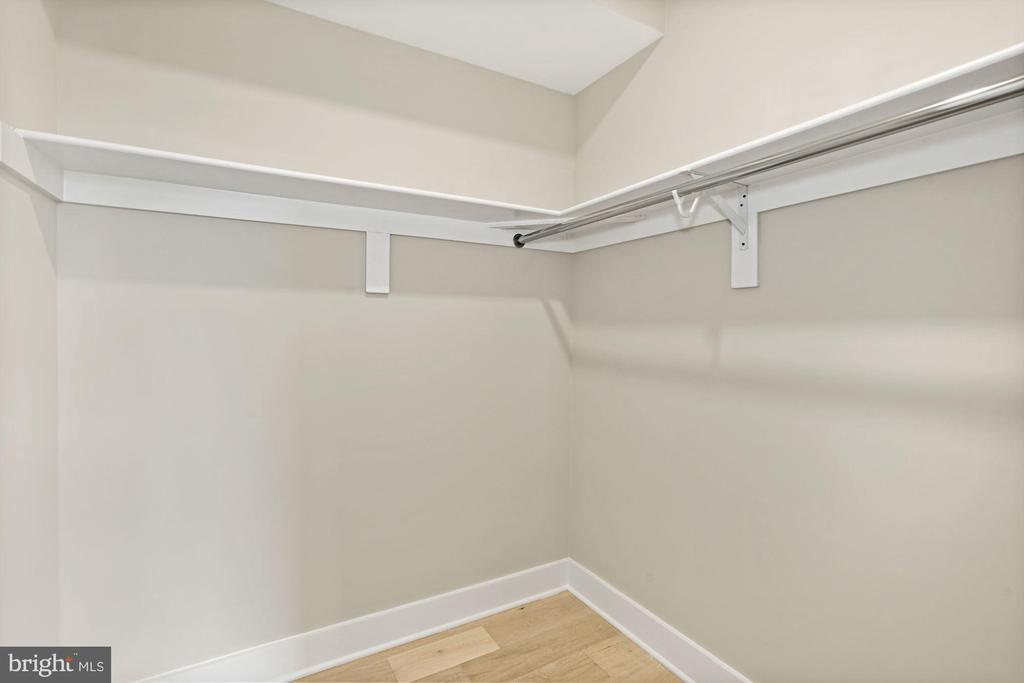 Huge walk-in closet in the master bedroom - 1821 I STREET NE #13, WASHINGTON