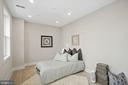 The second BR is just as spacious as the master - 1821 I STREET NE #13, WASHINGTON