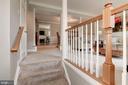 Traditional Open Floor Plan/Tiled Foyer - 7513 COLLINS MEADE WAY, ALEXANDRIA
