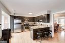 Kitchen with Stainless Steel Appliances - 7513 COLLINS MEADE WAY, ALEXANDRIA