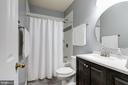 Basement Full Bath - 7513 COLLINS MEADE WAY, ALEXANDRIA