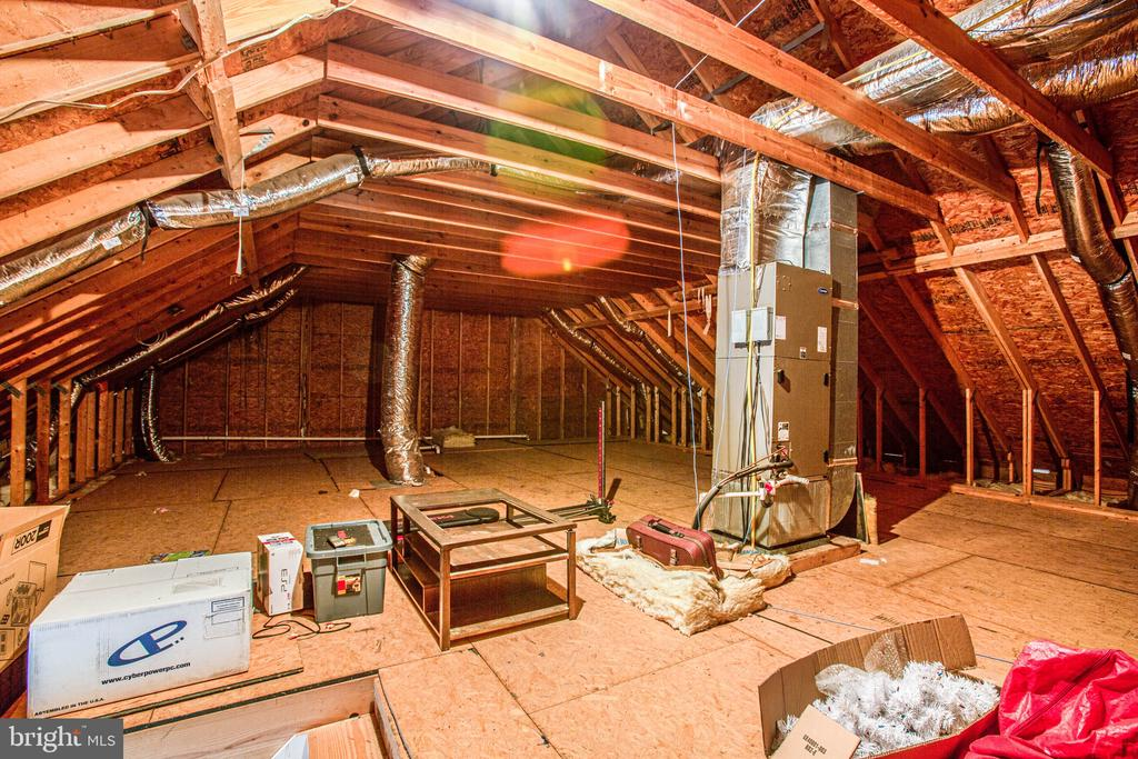 Attic with Potential to Finish - 2227 COUNTRY RD, BEAVERDAM