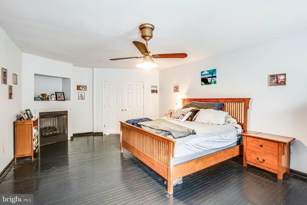 Master Suite with Fireplace - 2227 COUNTRY RD, BEAVERDAM