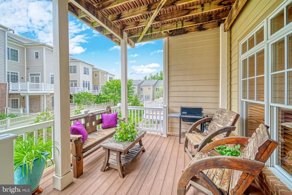 To see the view. To Sit. It's all about Nature - 6745 DARRELLS GRANT PL, FALLS CHURCH