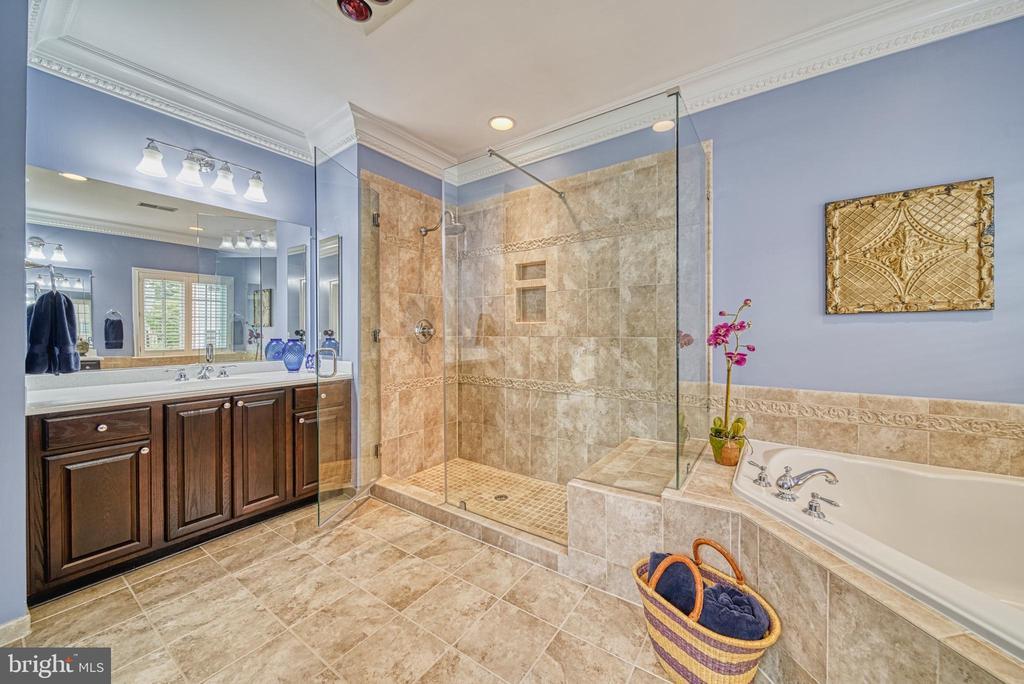 Two Vanities, Tub, Shower & Water Closet. Luxe +++ - 6745 DARRELLS GRANT PL, FALLS CHURCH