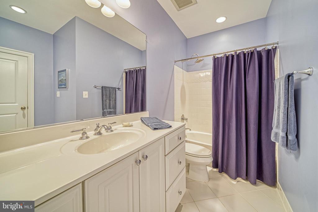 Expansive & Impeccable Hall Bath. So Fresh. - 6745 DARRELLS GRANT PL, FALLS CHURCH