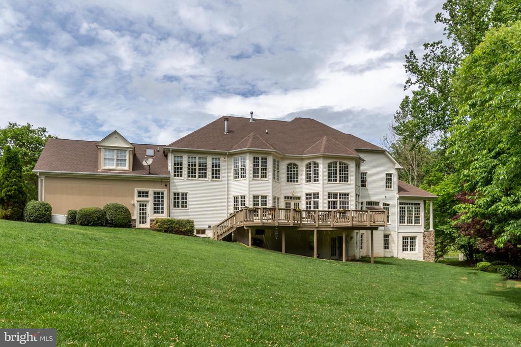 Exterior of property - 0.95 acres total - 3242 FOXVALE DR, OAKTON