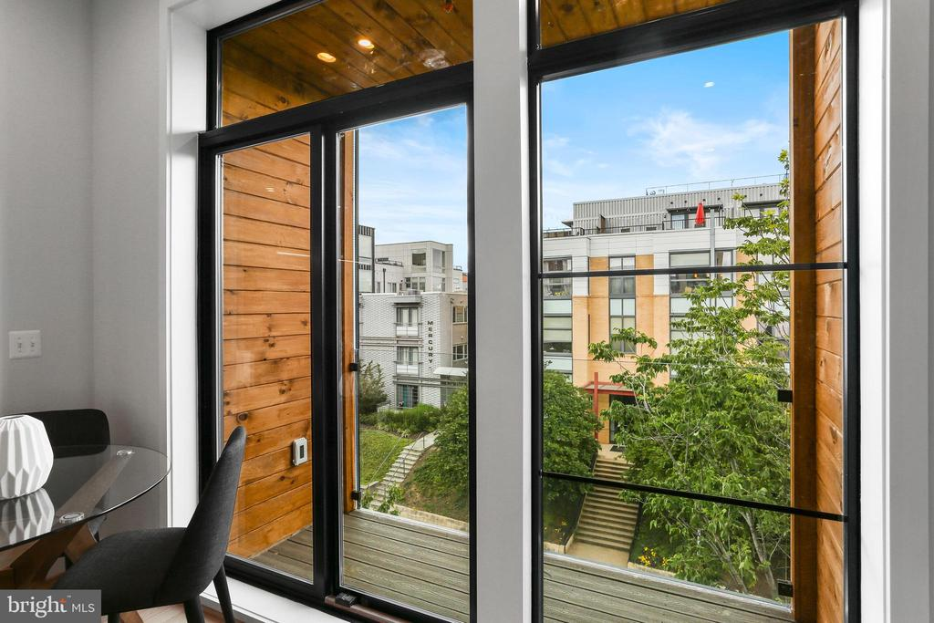 All homes offer outdoor space! - 1434 CHAPIN ST NW #4, WASHINGTON