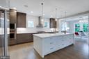 Wood floors -  4 1/2~ wood Dark Grey - 1313 N HERNDON ST, ARLINGTON