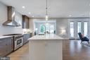 Open kitchen - 1313 N HERNDON ST, ARLINGTON