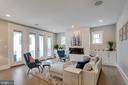 Living Room - 1313 N HERNDON ST, ARLINGTON