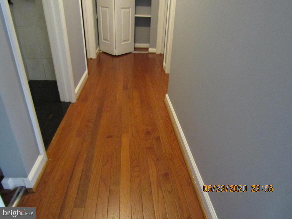 Hallway w/Hardwood floor - 13008 ROCK SPRAY CT, HERNDON