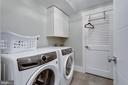 2nd laundry / lots of cabinets (Basement) - 1313 N HERNDON ST, ARLINGTON