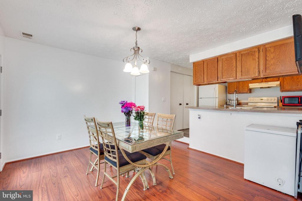 Dining room view to kitchen - 14337 MARLBOROUGH LN, UPPER MARLBORO